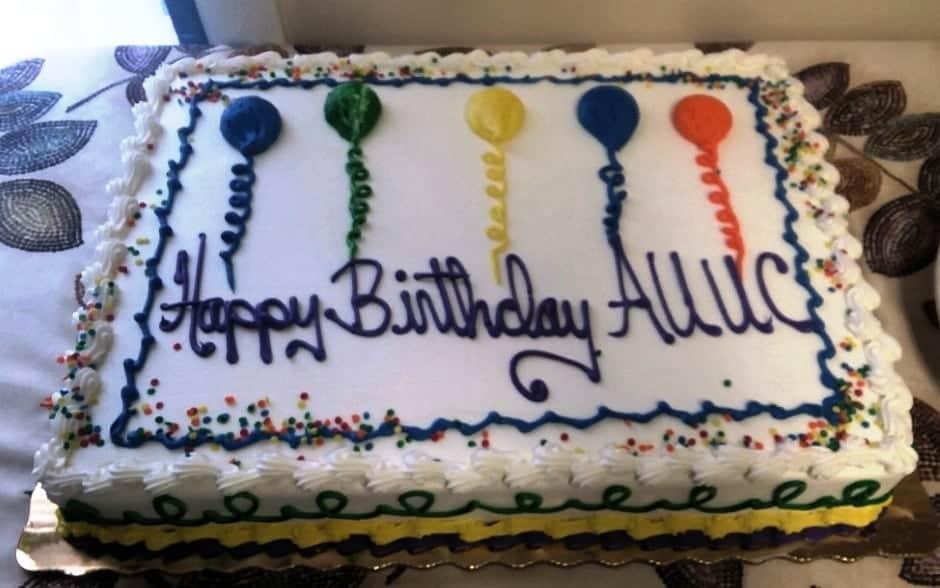 AUUC birthday cake 2017