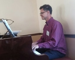 David Brown - our music director