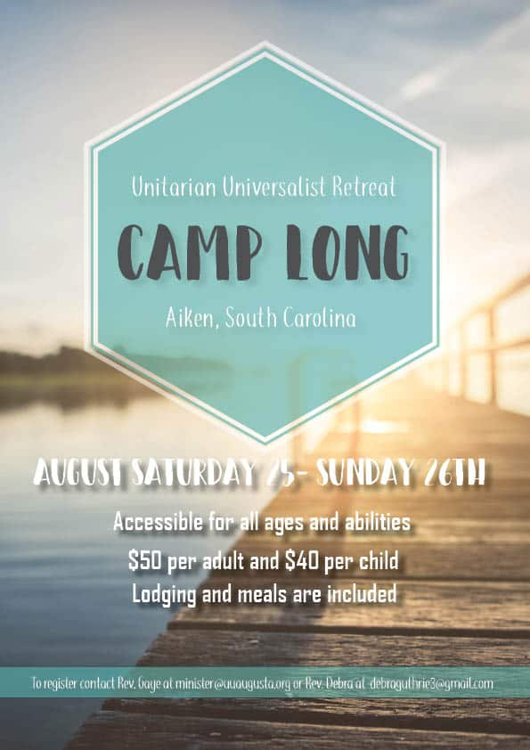 Camp Long 8/25-8/26/2018