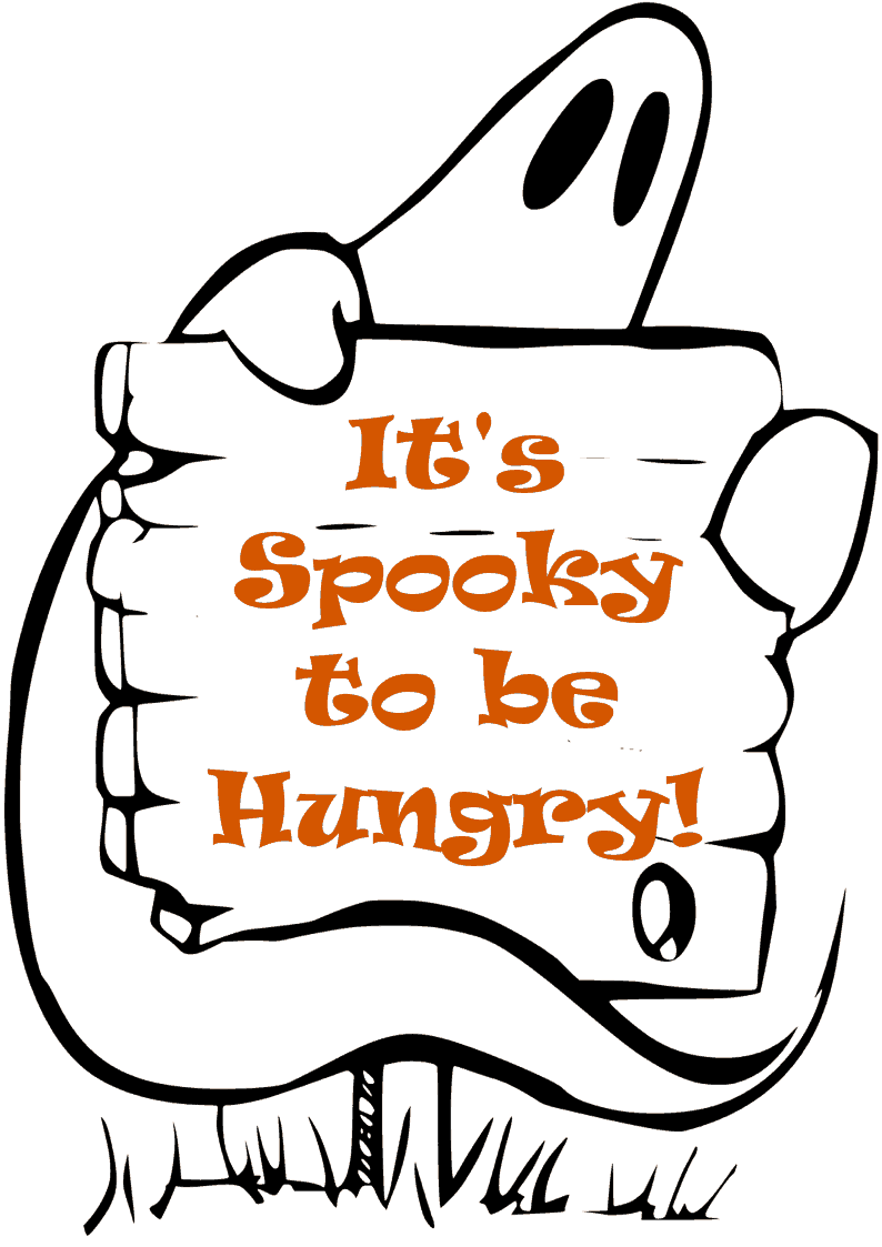 It's Spooky to be Hungry